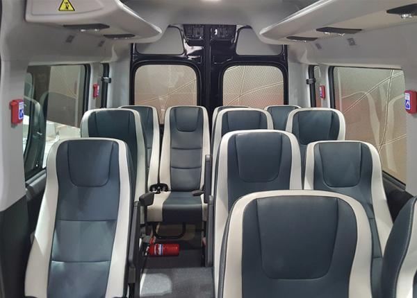 fotele do siedzenia w busie